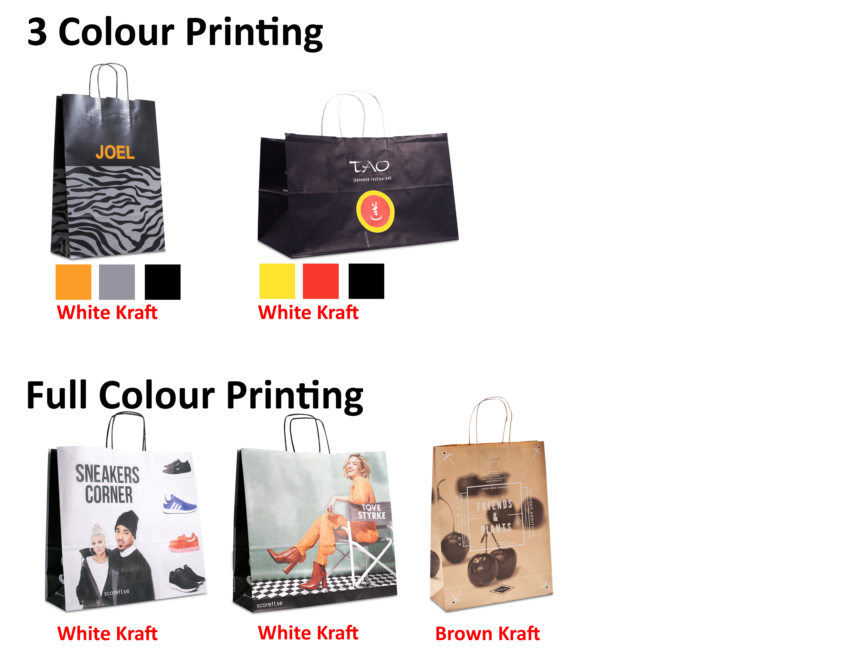 A4 Kraft Paper Bag Printing Singapore